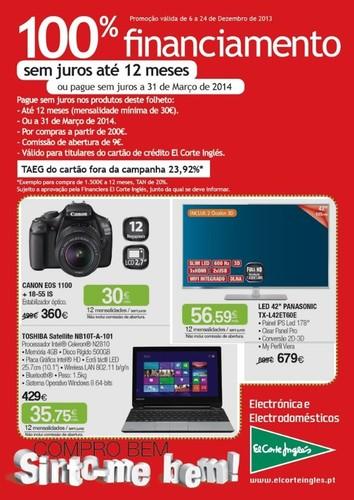 Novo folheto | EL CORTE INGLÉS | Tecnologia de 6 a 24 dezembro