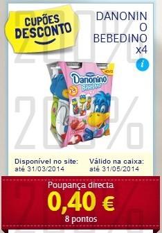 Acumulação L2P1 + Vale | PINGO DOCE | de 25 a 31 março, Danone - Danonino