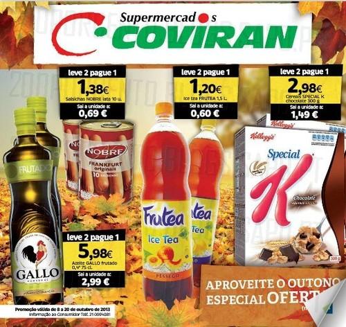 Supermercados, COVIRAN  Folheto Outono