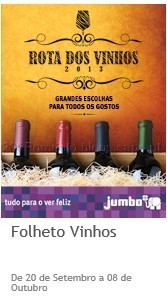 Jumbo rota dos vinhos
