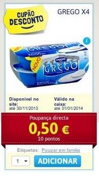 Acumulação Iogurtes   CONTINENTE   Danone Grego
