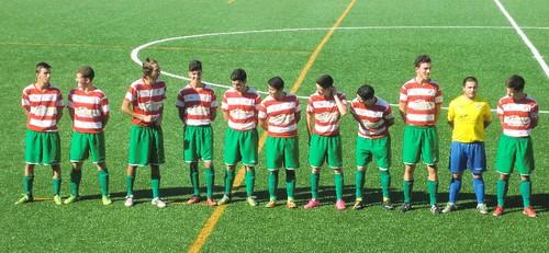 Juniores Riomeão 0 SC S João de Ver 1