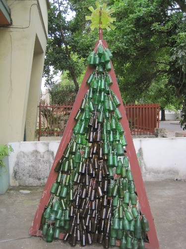 Árvore de natal ecológica  Natal SAPO Moçambique