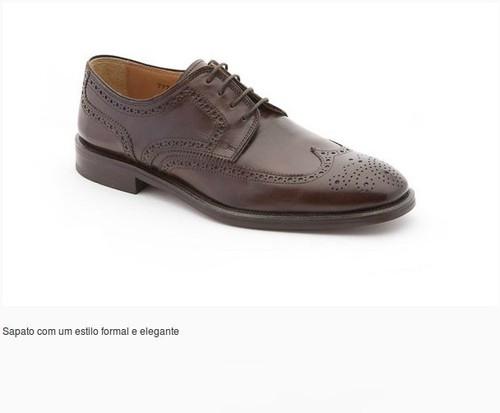 Compra sapatos online homem