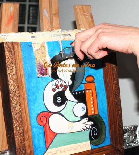 Bolo Quadro Pablo Picasso