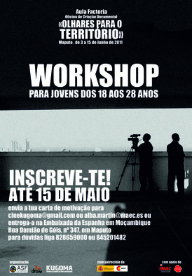 WORKSHOP - Oficina de Cinema Documental - Junho 2011