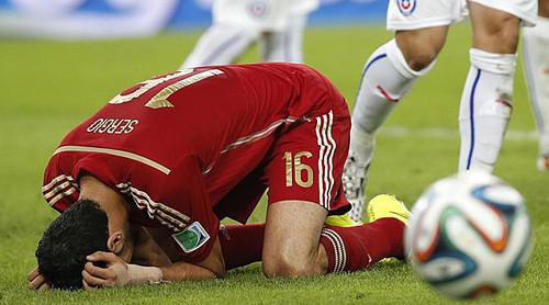 Espanha Eliminada do mundial