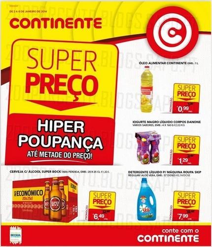 Novo Folheto | CONTINENTE | de 2 a 6 Janeiro - Online