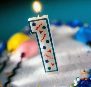 1 aniversario do blog