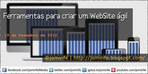 Blog Post: Ferramentas para criar um WebSite gil