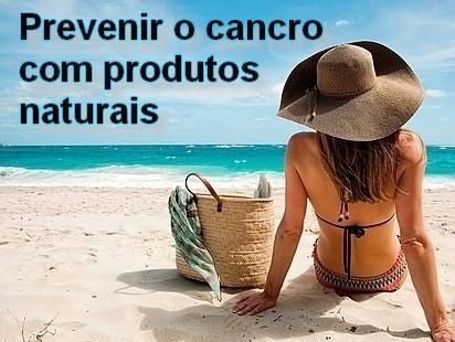 Produtos naturais para prevenir o cancro