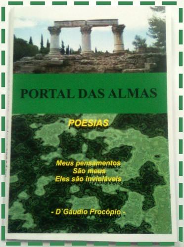 LIVRO/VENDA DO LIVRO PORTAL DAS ALMAS/POESIAS
