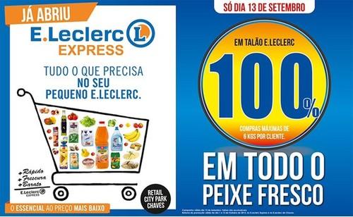 100% em Peixe Fresco - E-Leclerc