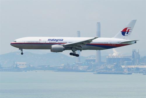 Boeing 777 Malasia Airlanes