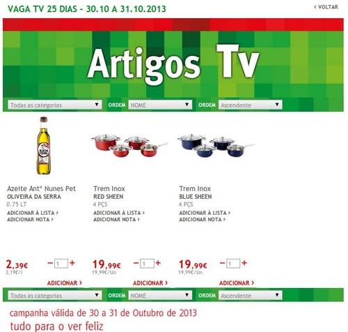 Promoções   JUMBO   TV, Artigos TV, 30 e 31 outubro