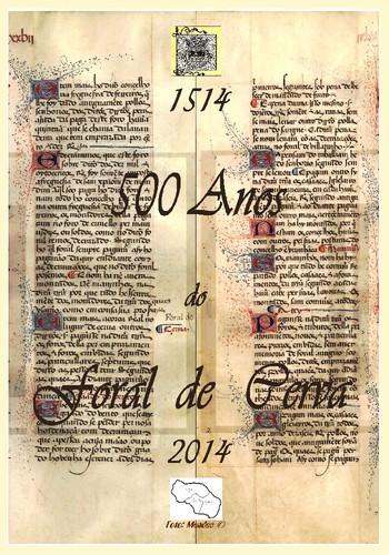 500 Anos do Foral de Cerva
