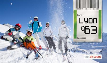 Voos baratos para Lyon - Neve Alpes Franceses na TAP