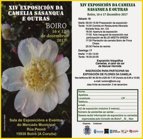 1 - Boiro 16 e 17 Dez 2017 - Cartaz e calendário.