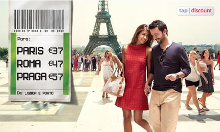 voos baratos Tap para Paris, Roma e Praga