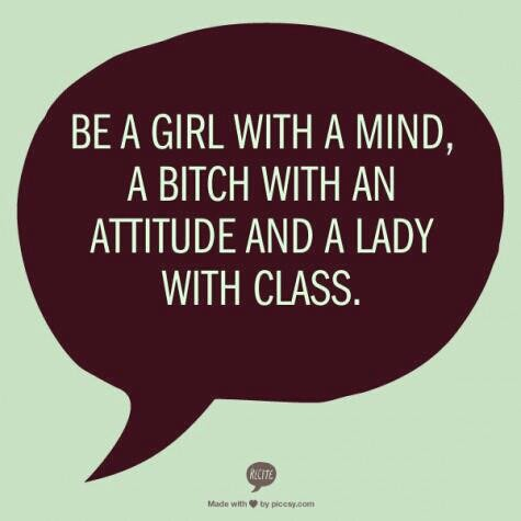Be a girl