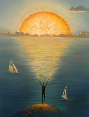 Pintura de Vladimir Kush