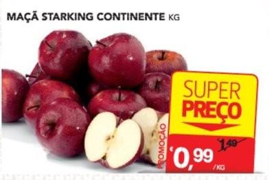 Acumulação Super Preço + 25% | CONTINENTE | Maçã