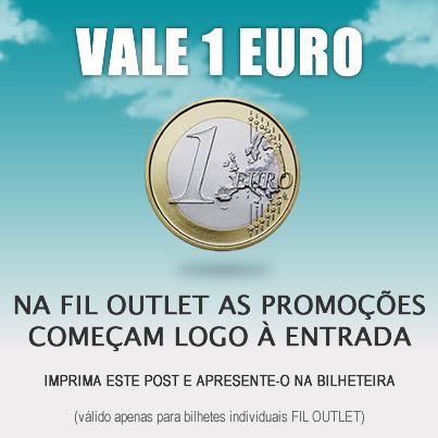 Desconto 1€ na entrada | FIL OUTLET | de 6 a 8 dezembro