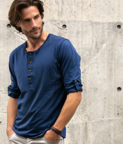 Camisola.azul.H&M