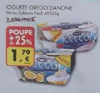 Acumulação 25% + Vale | PINGO DOCE | de 6 a 12 maio - Gregos da Danone