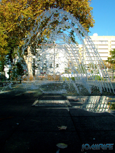 Jardim Municipal da Figueira da Foz (7) Jatos de água [EN] Municipal Garden of Figueira da Foz - Water jets