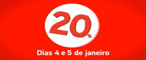 Nota 20 | WORTEN | dias 4 e 5 janeiro, 20% de desconto em talão