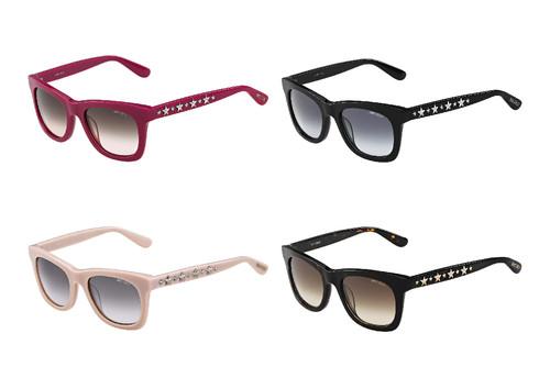 07c8323a82454 Baseada na silhueta dos óculos de sol, as armações para óculos graduados  (modelo JC 77) estão também disponíveis nas mesmas cores.