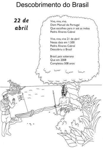 Atividades Sobre O Descobrimento Do Brasil O Mundo Das Criancas