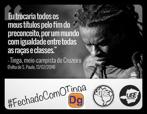 #FECHADO COM O TINGA