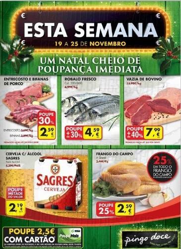 Novo Folheto | PINGO DOCE | já Online de 19 a 25 novembro