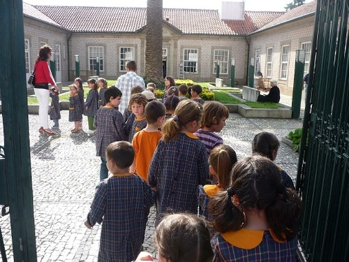 Crianças visitam Biblioteca Municipal de Penafiel