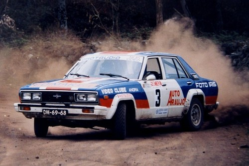 Tiago Costa venceu o Rali Sical em 1986...