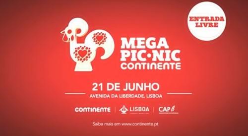 Mega Pic-Nic Continente Lisboa 2014