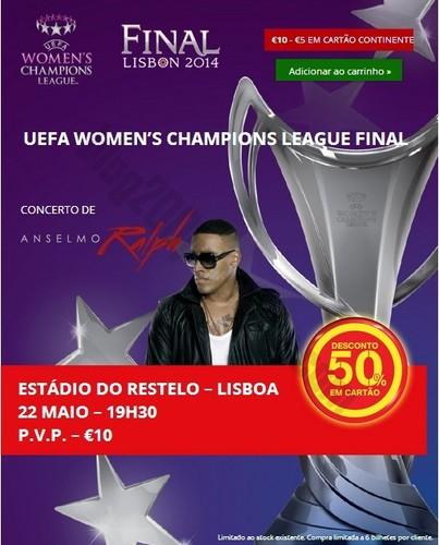 50% de desconto | CONTINENTE | UEFA CHAMPIONS LEAGUE FINAL