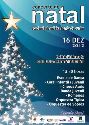 Concerto de Natal da Academia (2012)