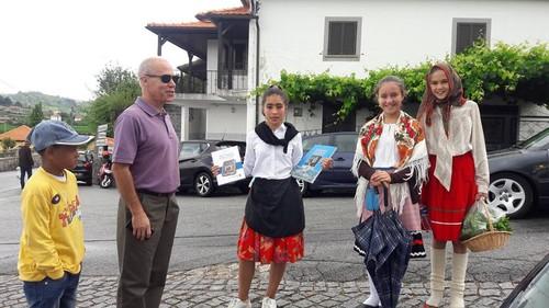 Venancio Fernandes PPD visita feira de Padornelo.j