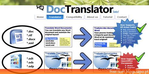 traduzir documentos do office, word, excel, power-poin, pdf