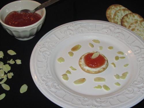 Marmelada com queijo de cabra