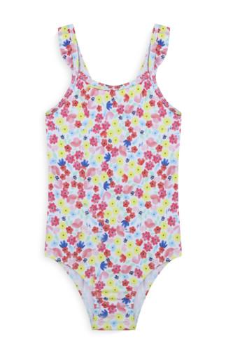 Kimball-0885401-bg floral swimsuit pink, grade ROI