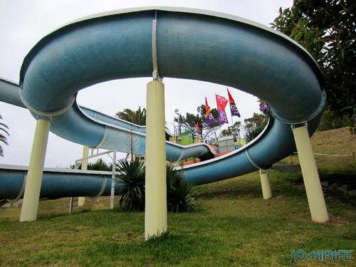 Aquaparque Teimoso na Figueira da Foz (11) Curva do escorrega [en] Teimoso Aqua park in Figueira da Foz Portugal