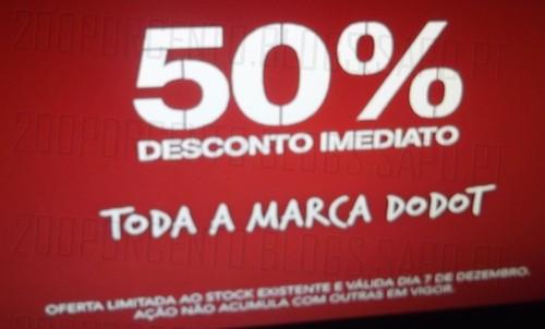 50% de desconto | CONTINENTE | Dodot, amanhã dia 7 dezembro