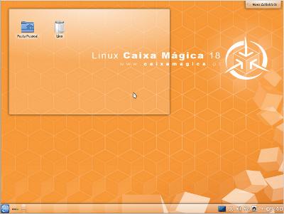 Caixa Mágica 18 KDE - Beta