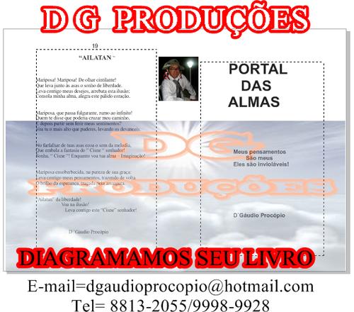dg/diagramação de livros