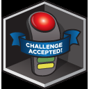 Challenged Accepted badge