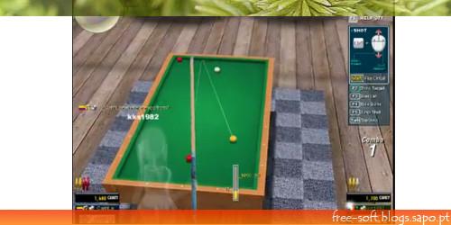 Jogo de bilhar e snooker 8 balls grátis freeware